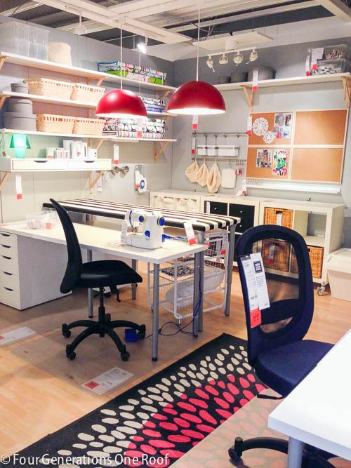 My Ikea Stoughton Shopping Trip Craft Room Design
