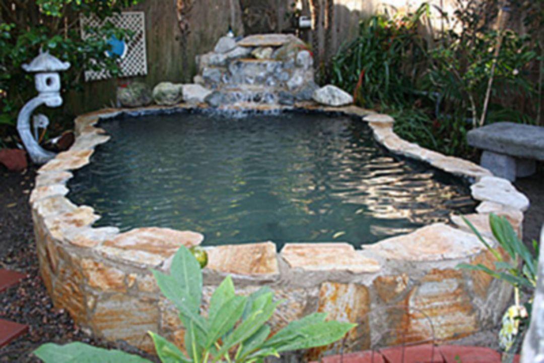 25 Beautiful Minimalist Garden House With Fish Pond Ideas Ponds Backyard Pond Design Pond Waterfall