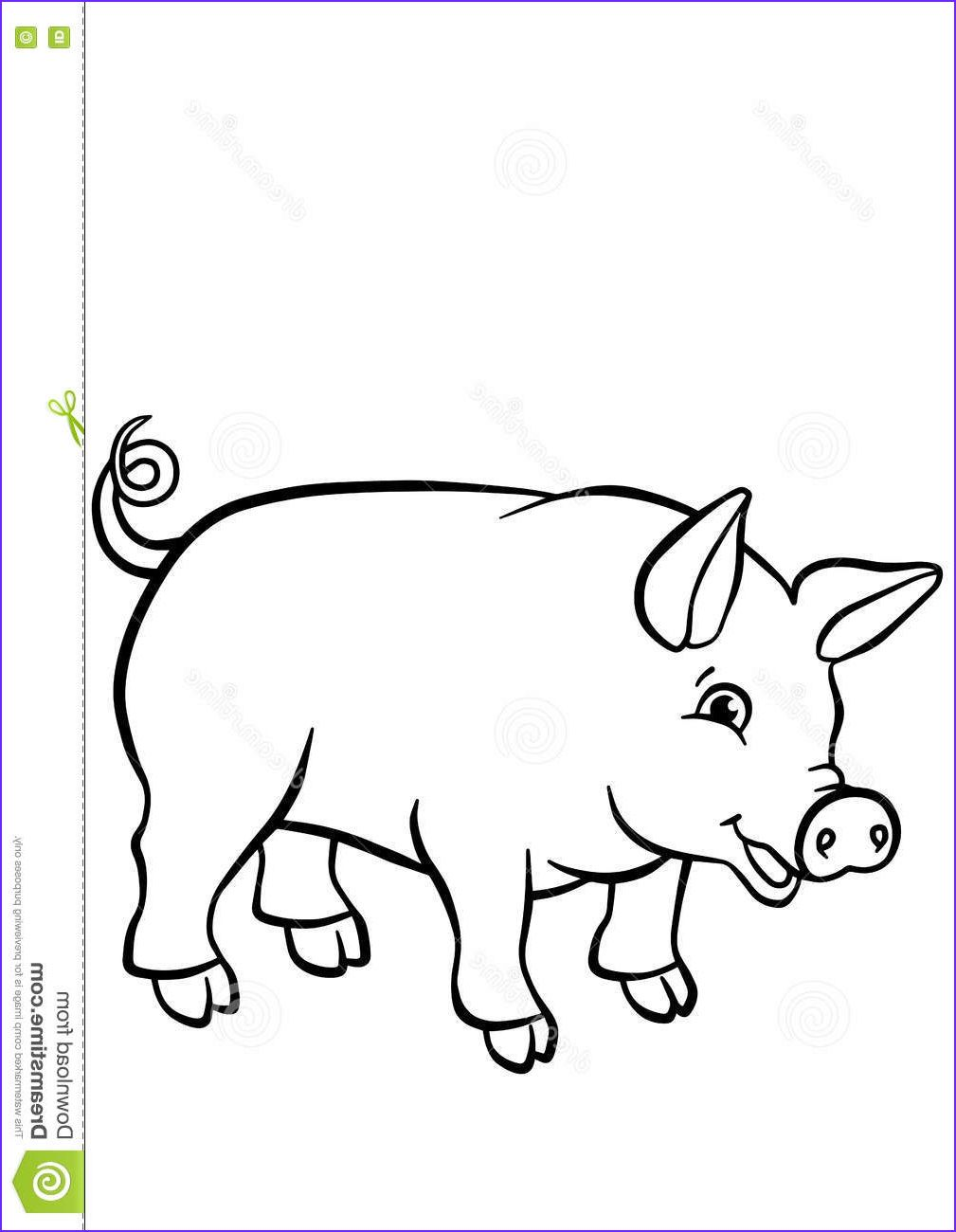 9 Inspirational Cute Pig Coloring Pages Images In 2020 Cute Pigs