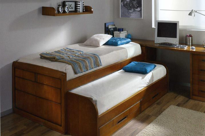 Cama nido cerezo deco bed frame bedroom y bed for Catalogos de muebles juveniles con precio