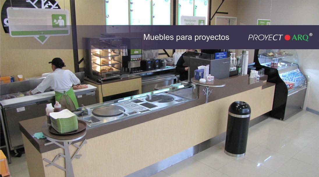 Proyect arq muebles para proyectos punto de venta tiendas for Tiendas de muebles para restaurantes