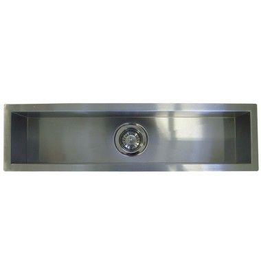 42 Inch Stainless Steel Undermount Single Bowl Kitchen Bar Prep Sink Zero Radius Design Sink Bar Sink Single Bowl Kitchen Sink