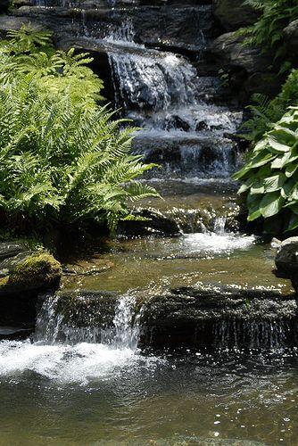 Rock Garden Waterfall Ponds Pinterest Estanques, Fuentes y - estanques artificiales