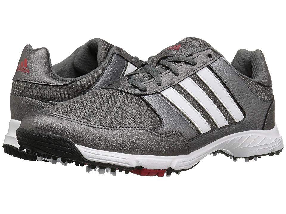 25c2d51ecc8742 adidas Golf Tech Response Men's Golf Shoes Iron Metallic/Ftwr White/Core  Black