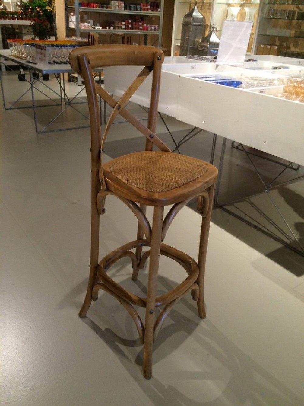 Barhocker aus Massivholz, Barstuhl, Sitzhöhe 75 cm | Barhocker ...