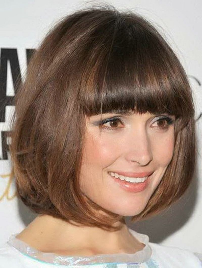 Short bob hairstyles with layers back view women short bobs