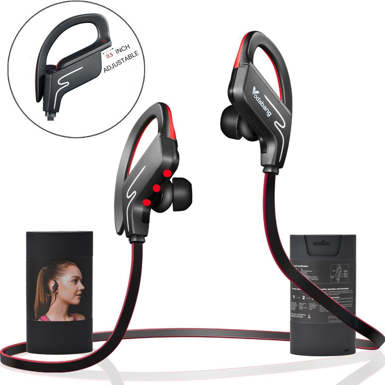 Bluetooth Headphones Vodabang IPX4 Sweatproof Wireless