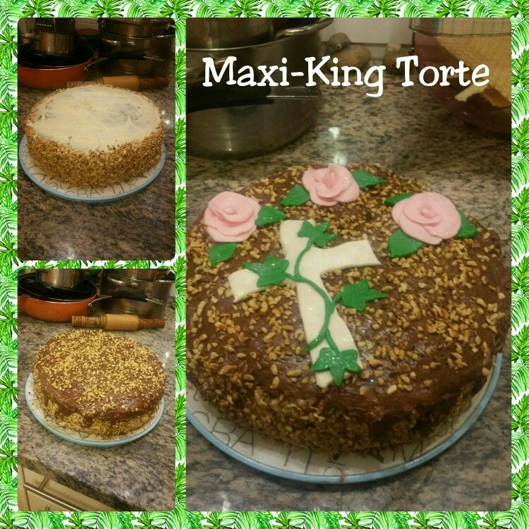 Maxi-King Torte zur Konfirmation