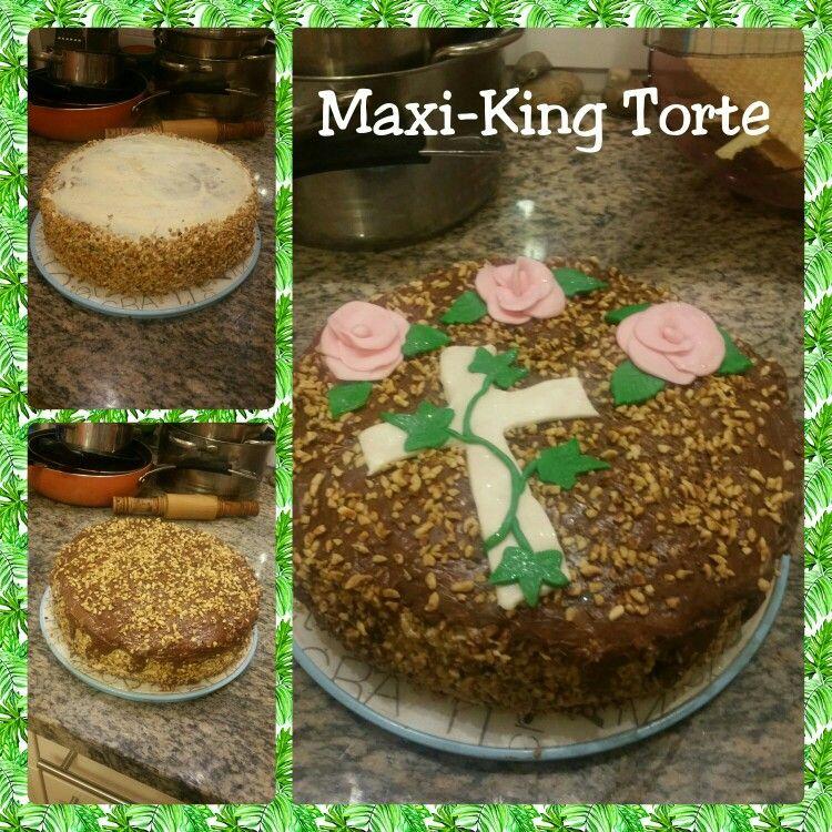 Maxi-King Torte zur Konfirmation