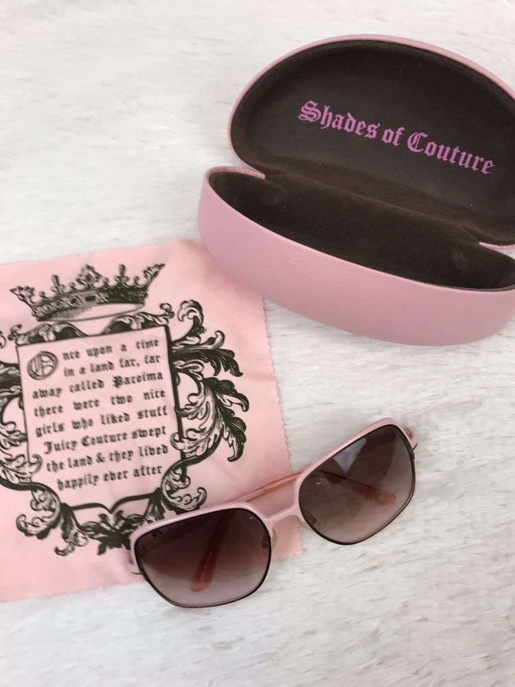 2b7b29200b JUICY COUTURE Womens Moss 3YG RN Aviator Sunglasses Pink Gradient Lens W   Case  fashion  clothing  shoes  accessories  womensaccessories ...