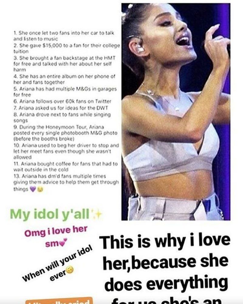 this is why i love her arianagrande arianagrande