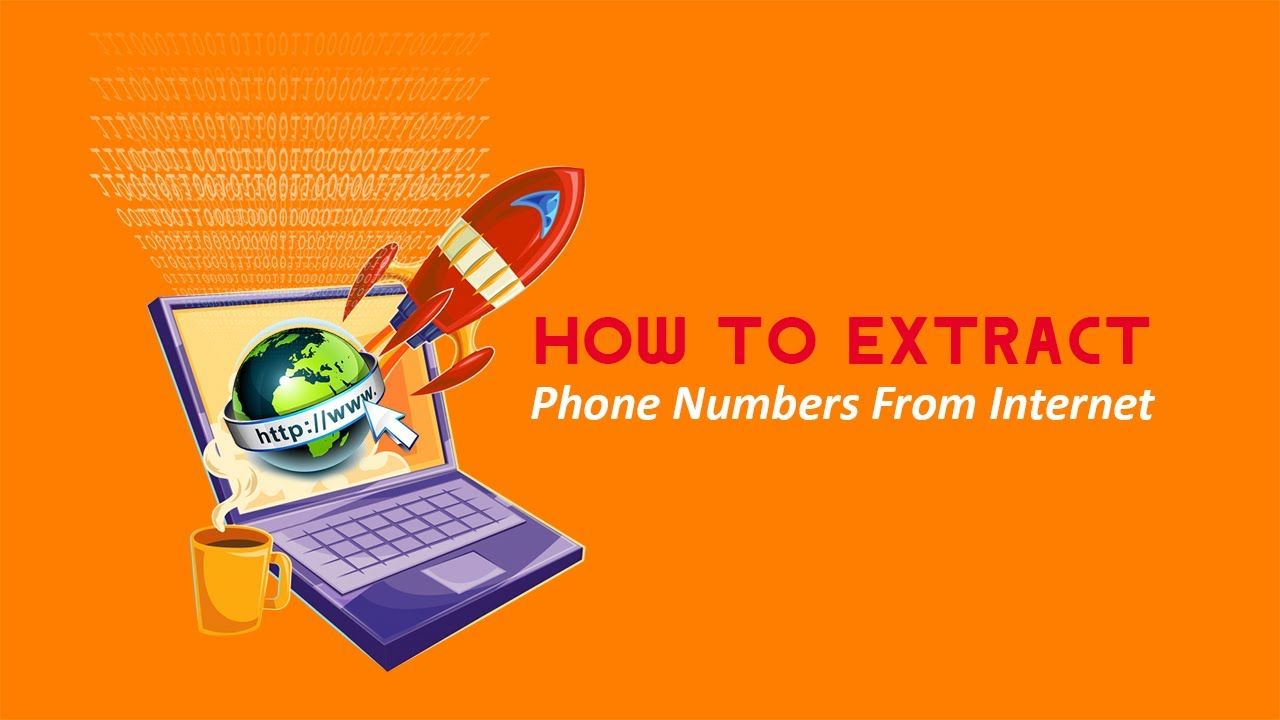 How to extract phone numbers from the internet? Number ...