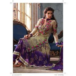 Ladies Partywear Silk Designer Suit in Delhi, Delhi, India - RAB ...