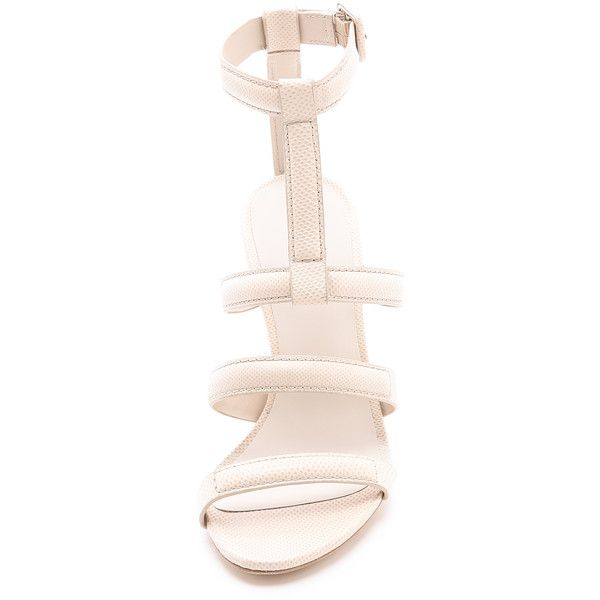 Alexander Wang Anjelika High Heel Sandals ($625) ❤ liked on Polyvore