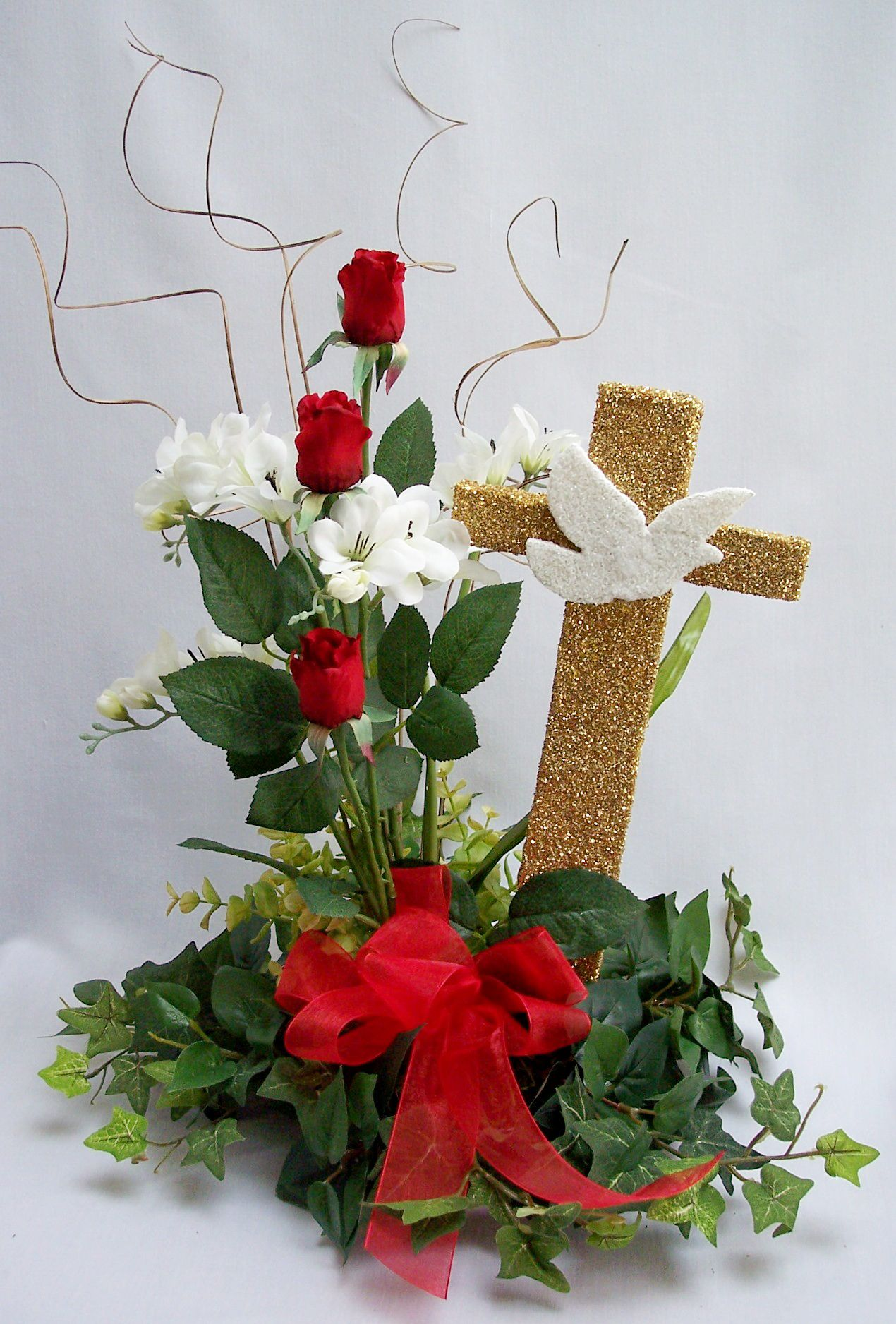 Confirmation Dove Centerpiece