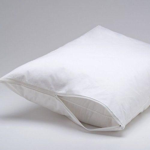 Dust Mite Pillow Covers Alluring Deluxe Vinyl Pillow Protector With Zipper 2 Pillow Covers * Find 2018