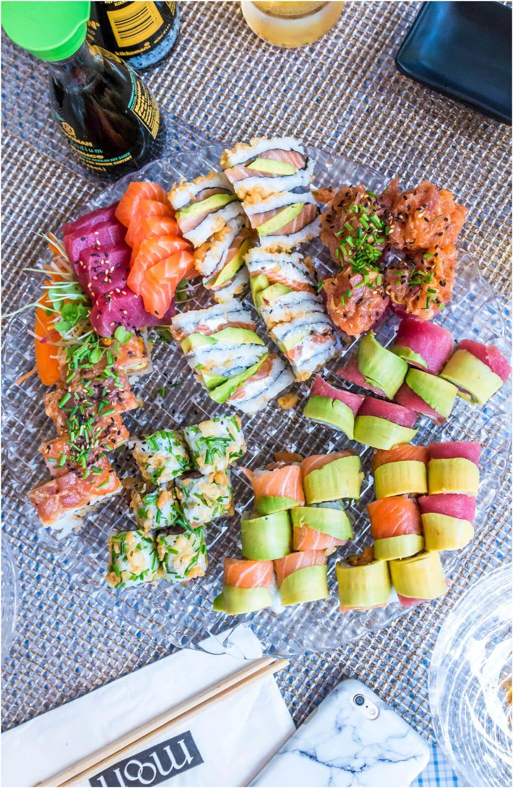 Tel Aviv Moon DLight My Nostalgic Sushi Business