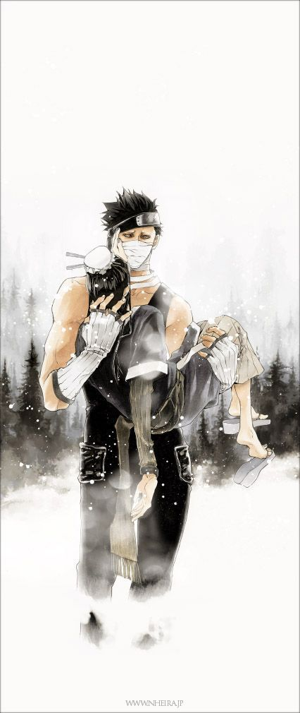Now I wanna cry... Zabuza and Haku were actually two of my favorite characters, and my heart died when they were resurrected.