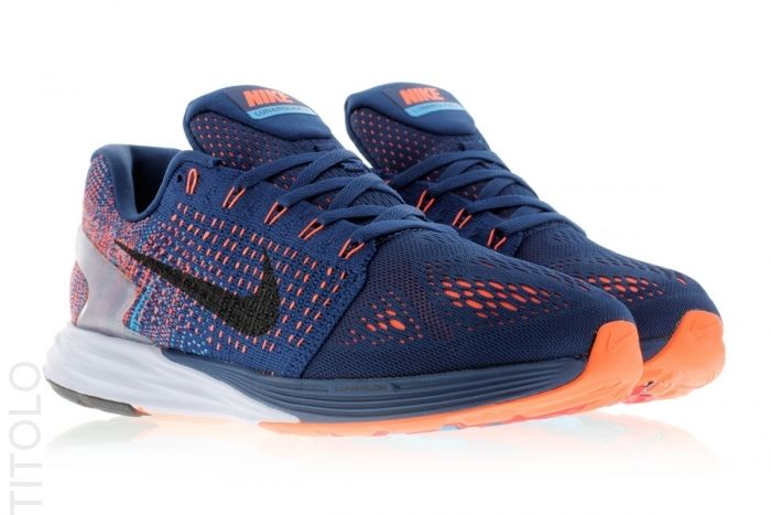 low priced 20413 107b3 Nike Lunarglide 7 747355-404 Brave Blue Black-Blue Lagoon Titolo