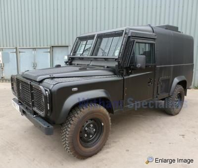 Land Rover, Snatch 3.5 V8 Armoured, #44385 - MOD Sales, Military ...