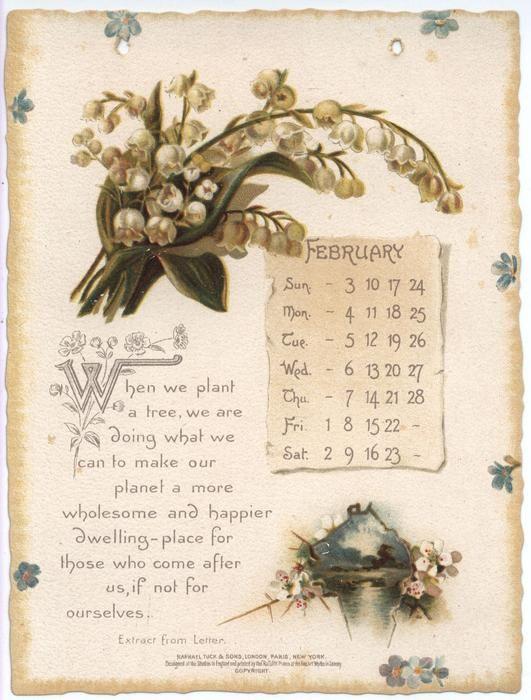 Oliver Wendell Holmes Calendar For 1895 Vintage Art Prints