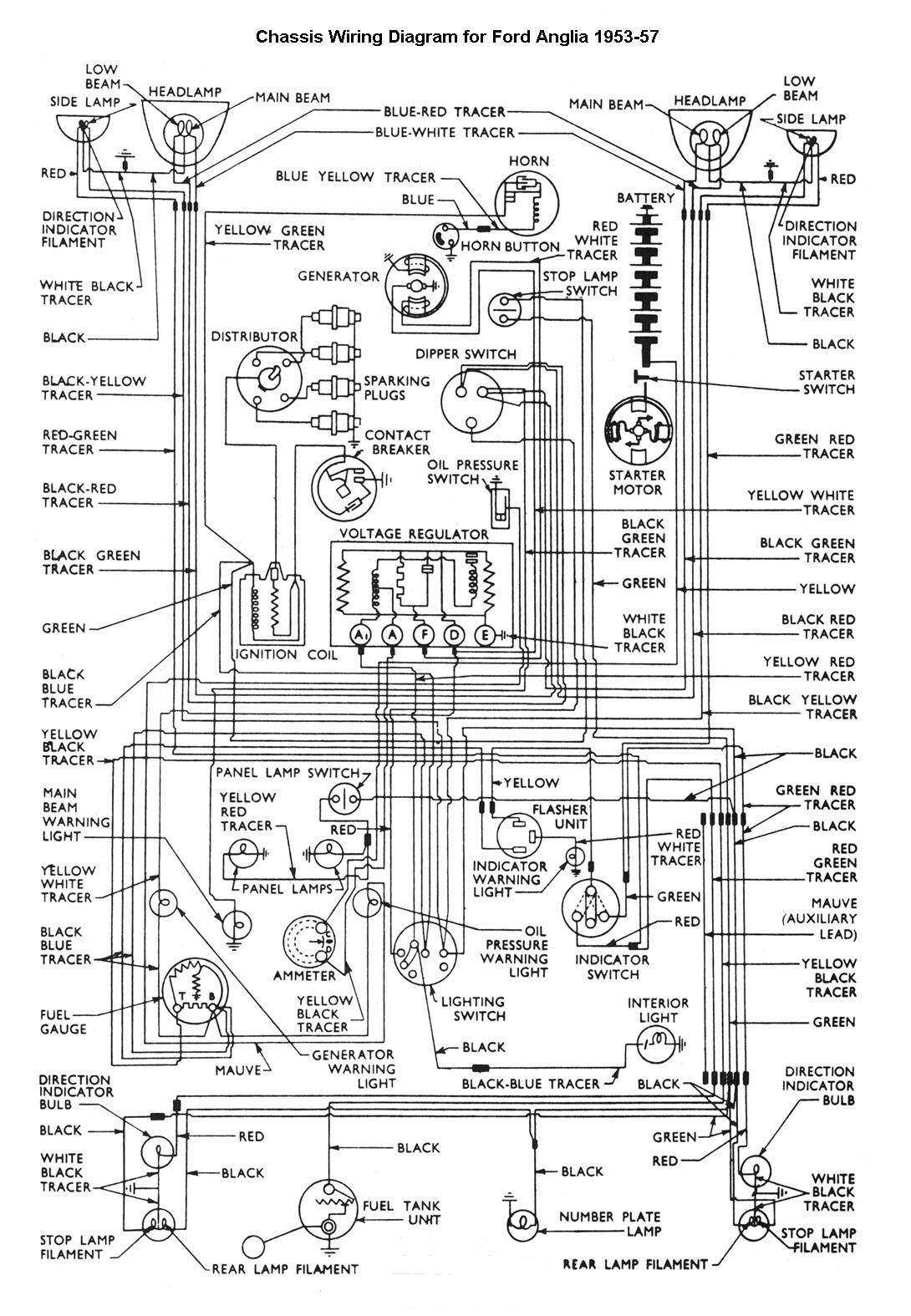 car wiring diagram mech truck repair cars automobile 1956 ford car wiring diagram [ 1090 x 1575 Pixel ]
