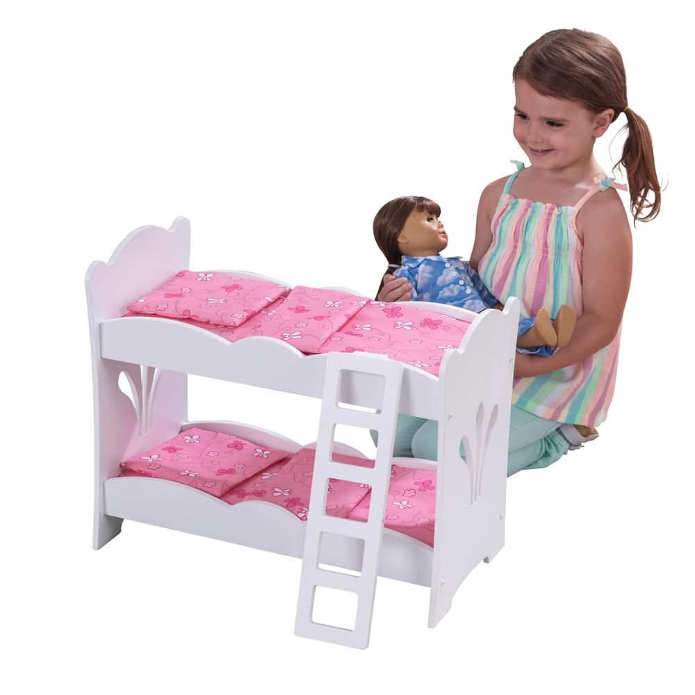 Kidkraft Lil Doll Bunk Bed Doll Bunk Beds Bed Wooden Bunk Beds