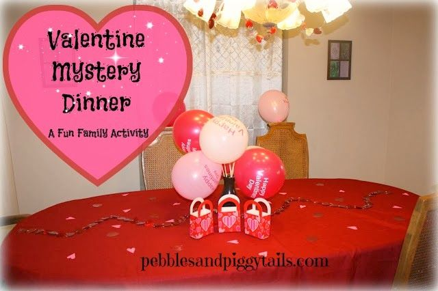 Valentine mystery dinner best family valentine 39 s day for Valentine dinner recipes kids