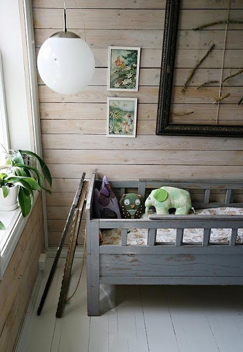 Habitaciones de bebe en gris en gris habitaciones de - Habitaciones ninos originales ...