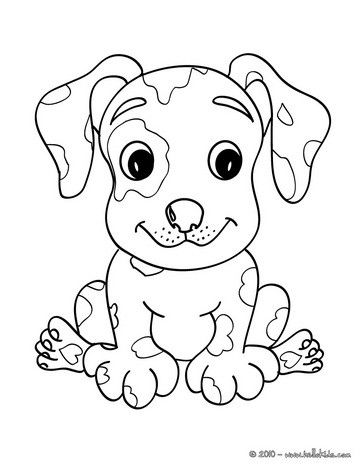 let your imagination soar and color this puppy coloring page with the colors of your choice
