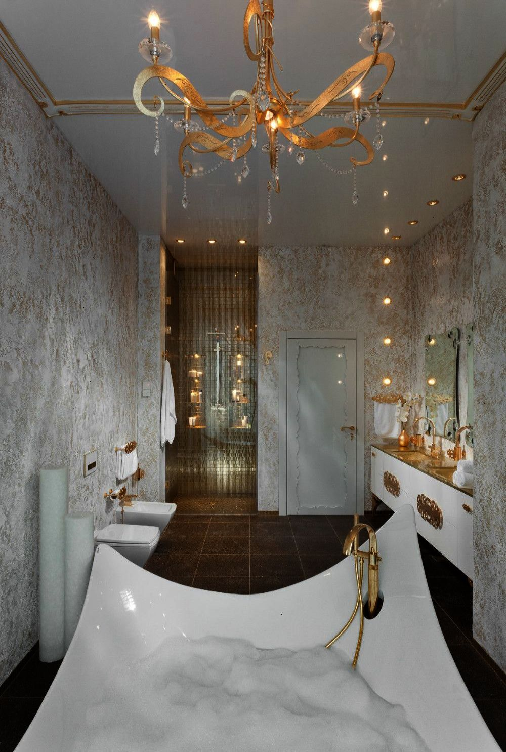 These could be eight of the most luxurious bathrooms we
