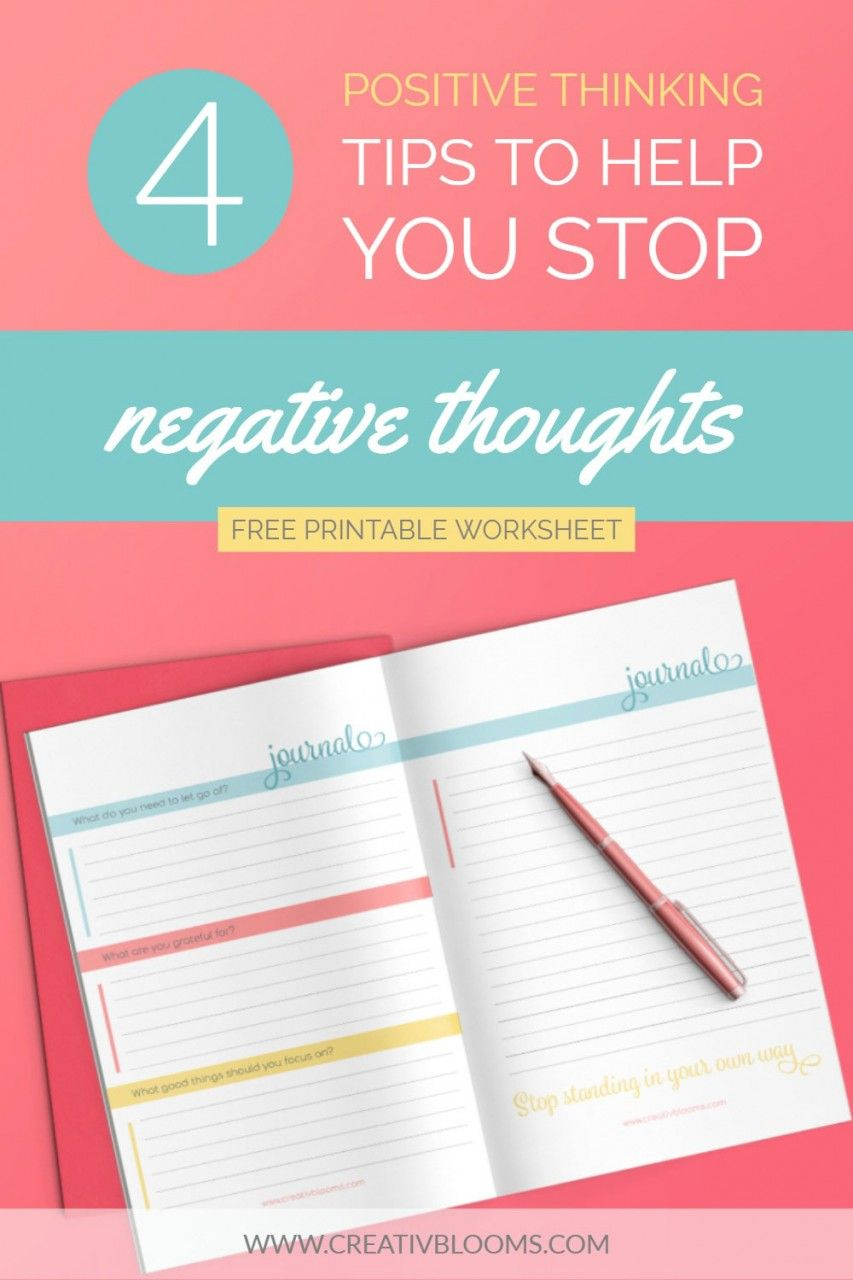 Blog Negative thoughts, How to create a successful blog
