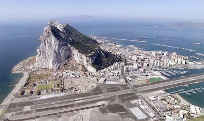 Gibraltar. Wow. Apparently, we'll leave our car on the other side of the airport runway in Spain, and walk to Gibraltar, which is Britain with a suntan. :)