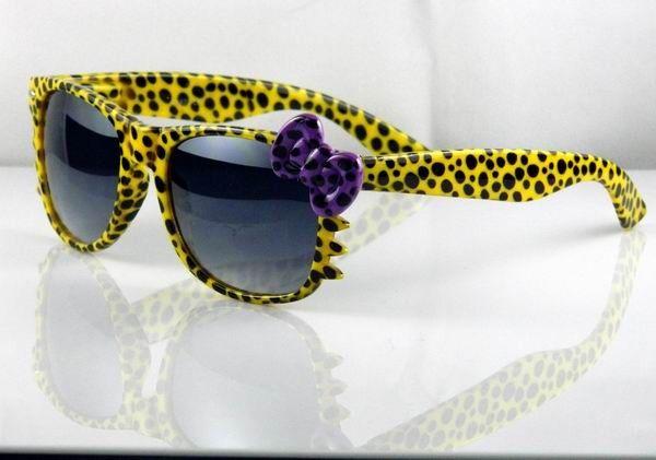 My new 'Hawkeye' style hello kitty sunglasses