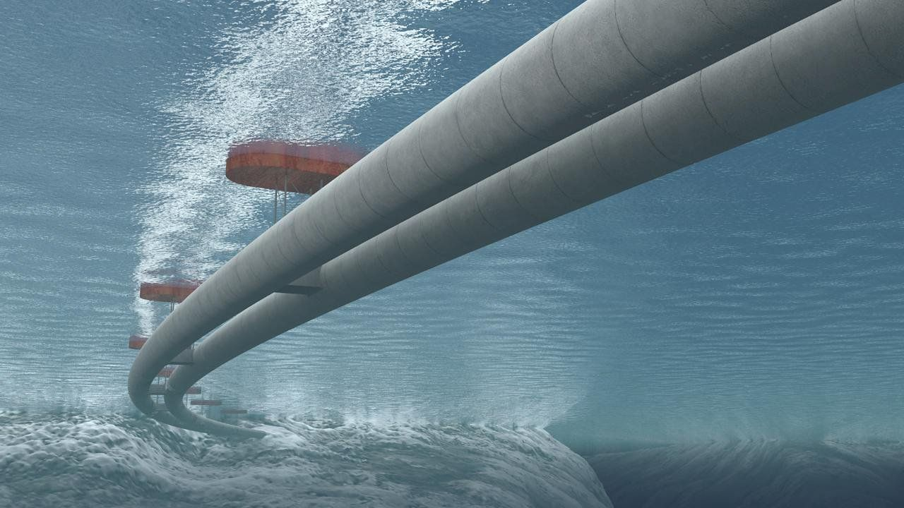 Underwater floating tunnel planned for Norway