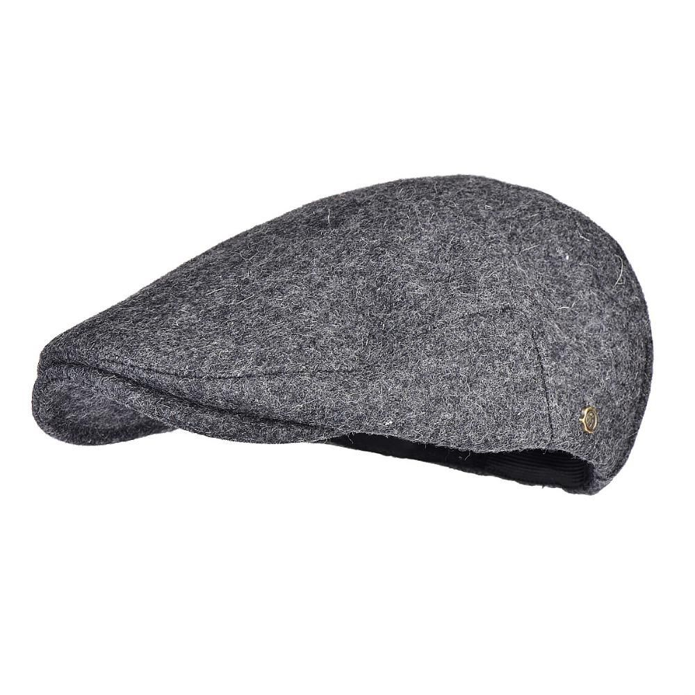 37f9c4444f VOBOOM Winter Autumn Keep Warm Men Beret Cap Wool Blend Tweed ...