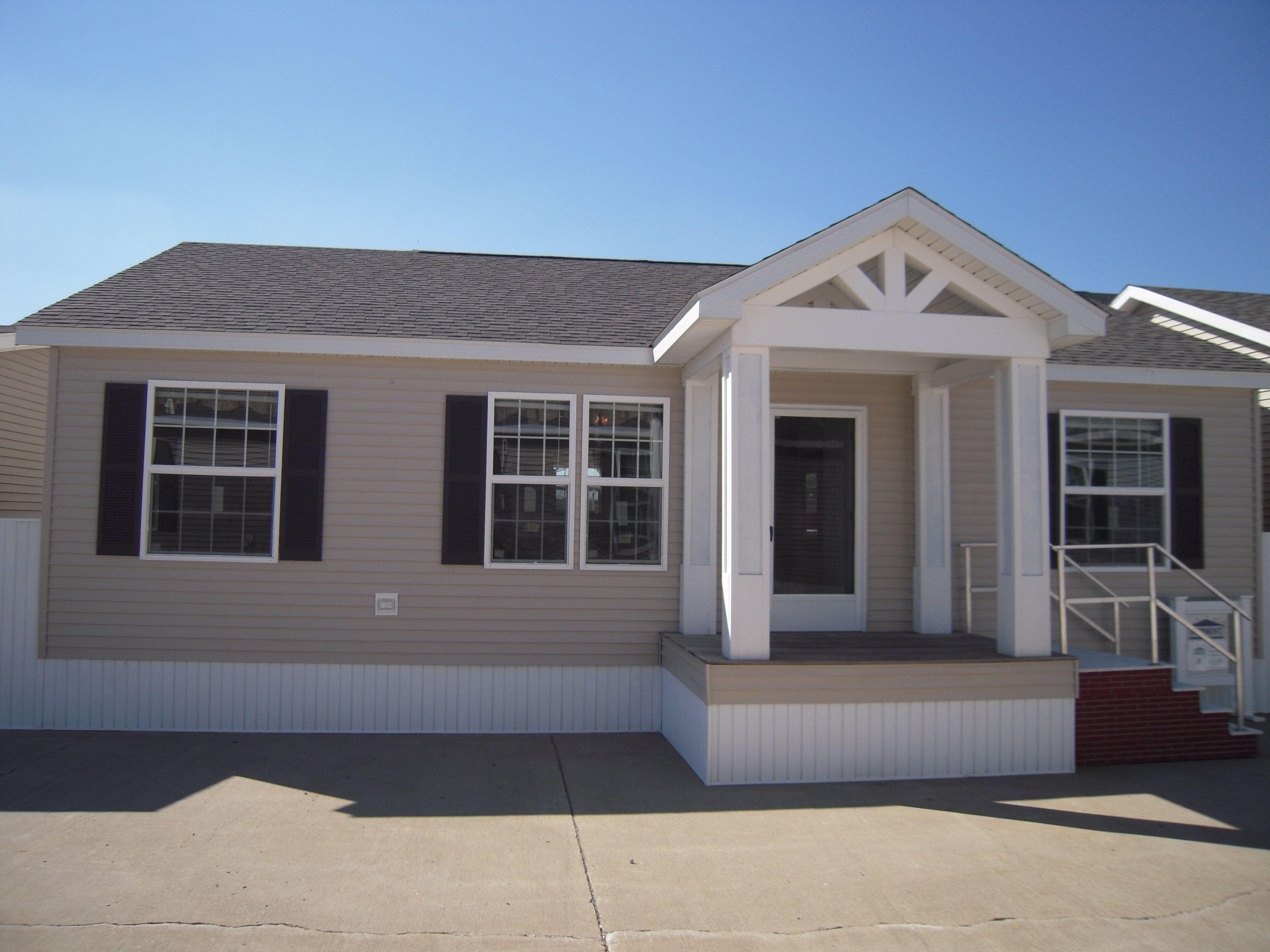 Modular Home Porch On A Fairmont Triumph Mobile Home Exteriors