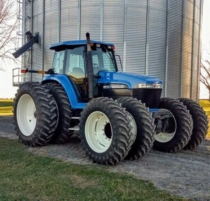 New Holland 8970 Fwd Tractors New Holland Ford New Holland Tractor