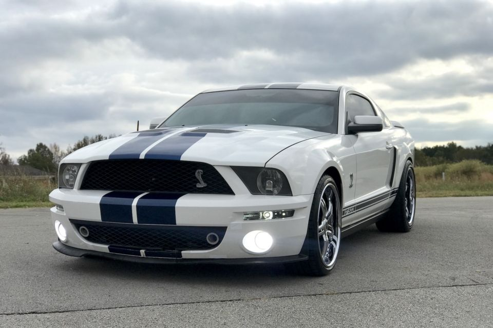 Six Speed Auto Swap Pushes A 2009 Shelby Gt500 Deep Into The 9s
