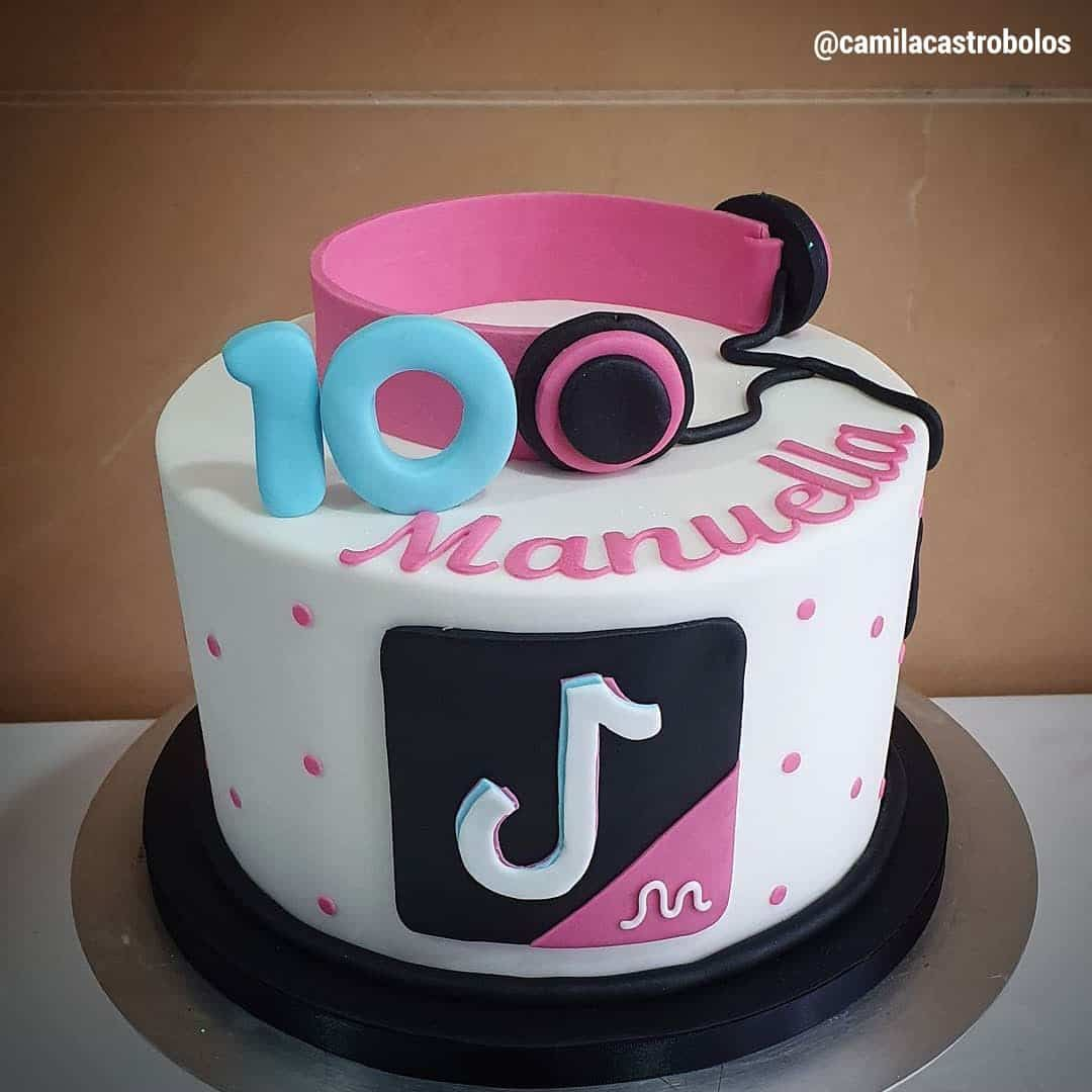 17 Likes, 0 Comments - Yum's the Word (@yumstheword_) on ...   Tiktok 10th Birthday Cake