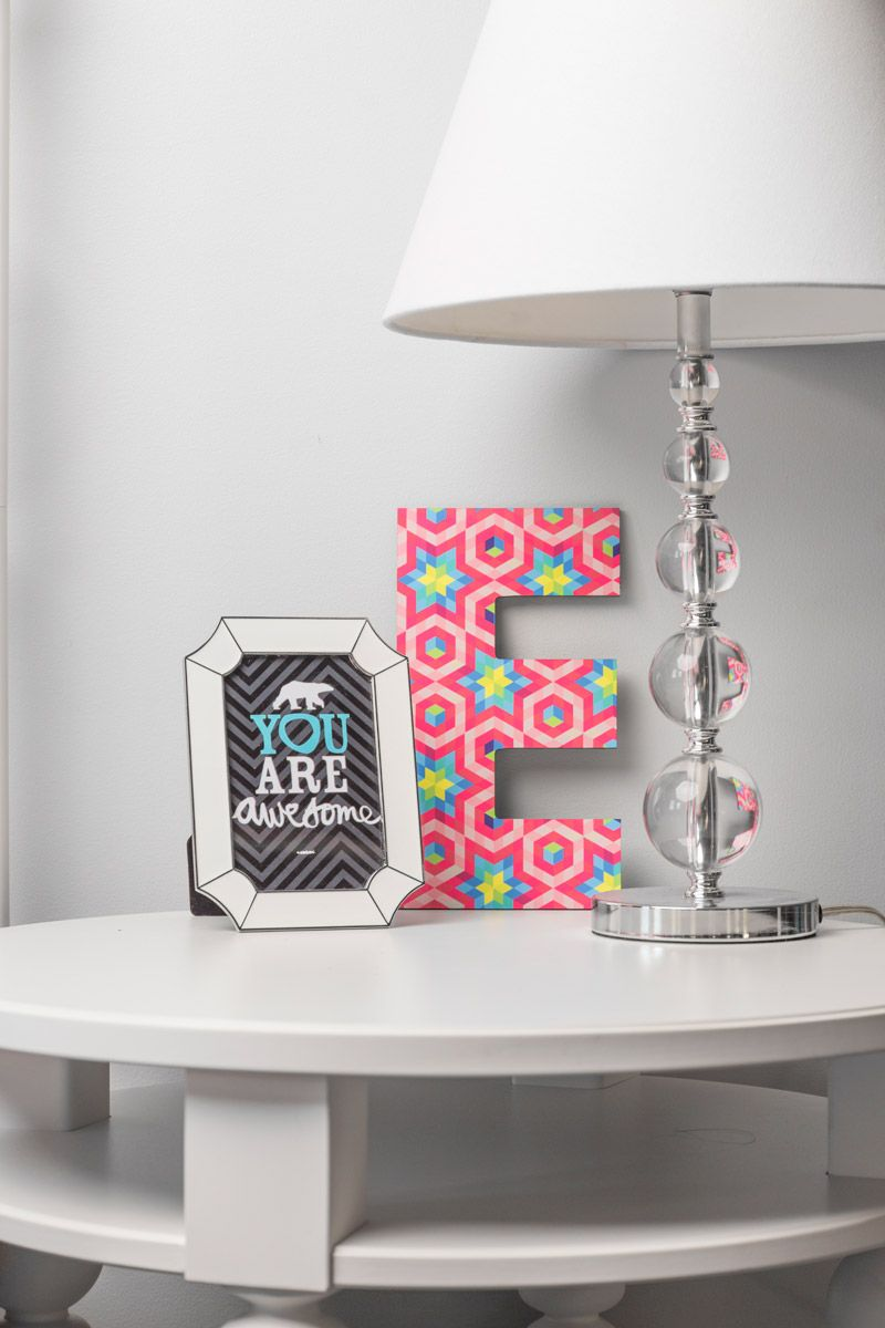 Love these wall letters for any area of the house!