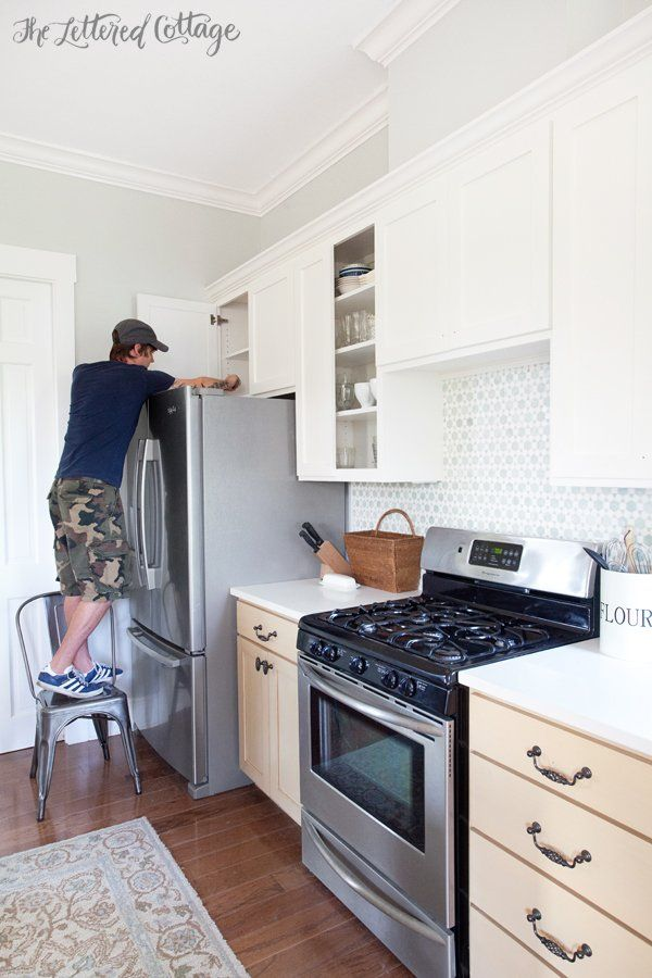 Painting Kitchen Cabinets Tips And Tools Simply White Benjamin