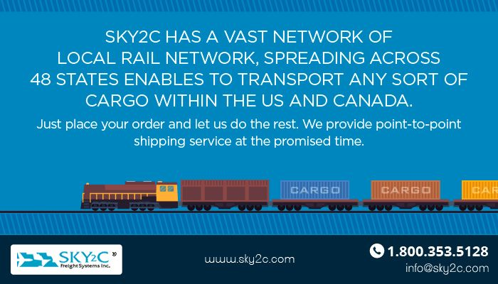 Sky2c Has A Vast Network Of Local Rail Network Spreading Across