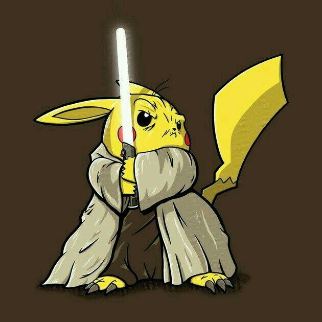 Pikachu jedi