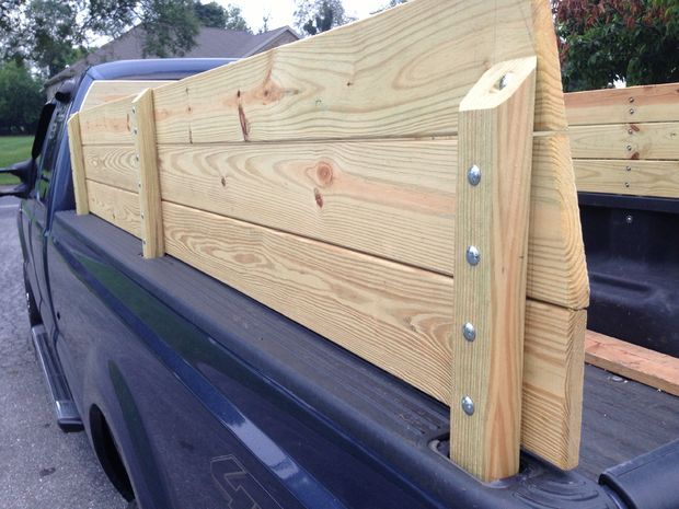 Pickup Truck Sideboards Stake Sides Ford Super Duty Pickup