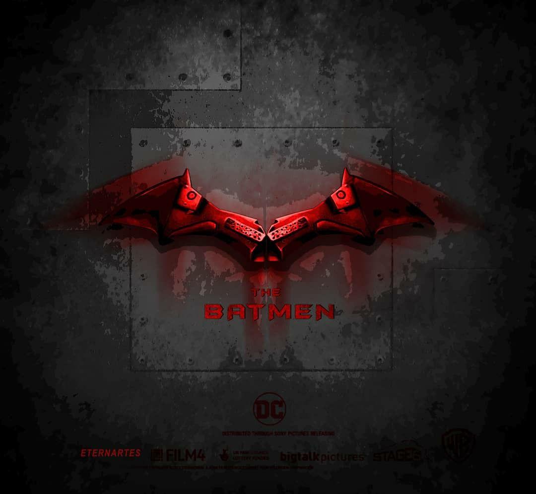 Batman logo Robert Pattinson