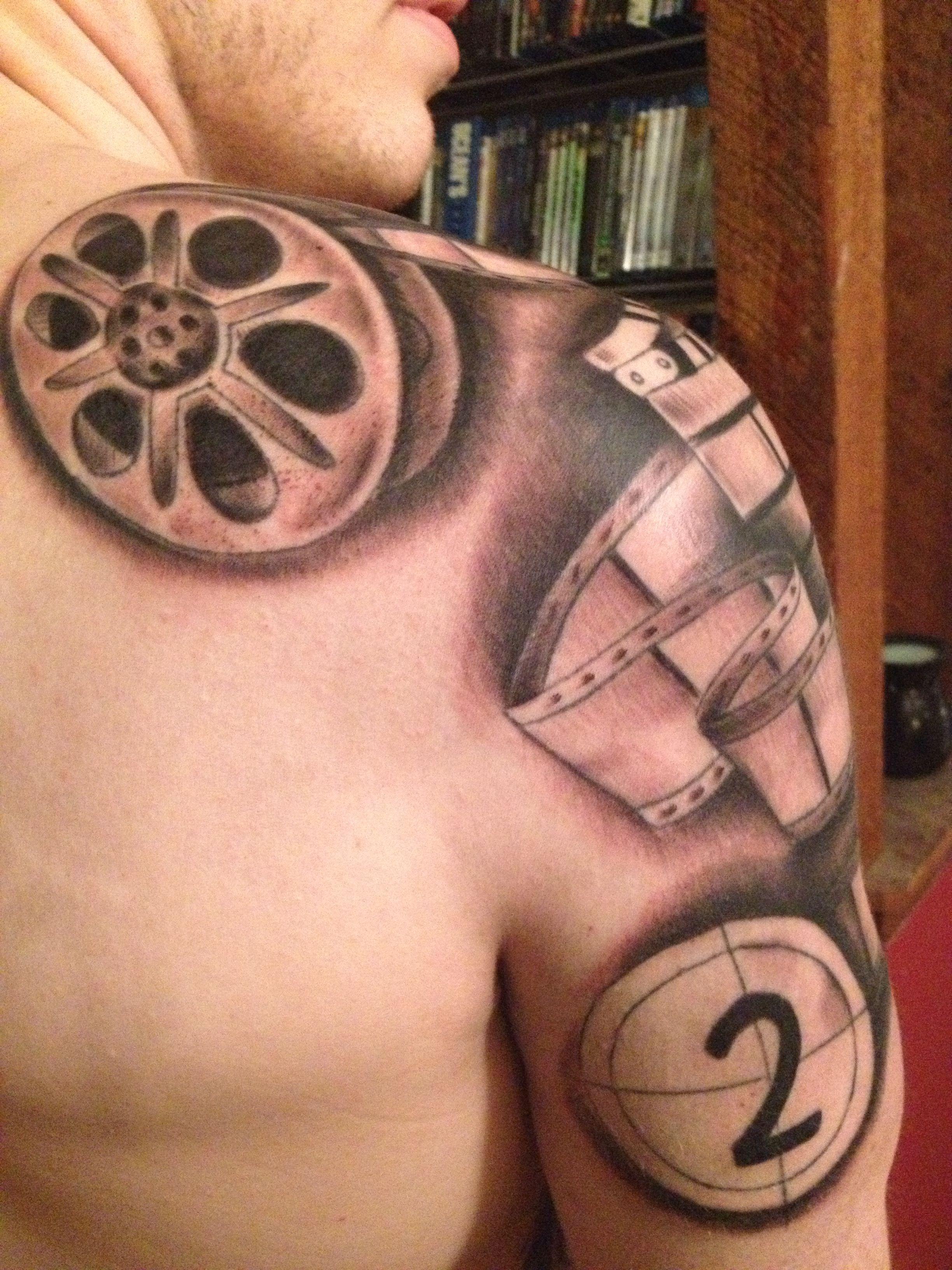 Film Reel Tattoo : tattoo, Tattoos,, Tattoo, Inspiration