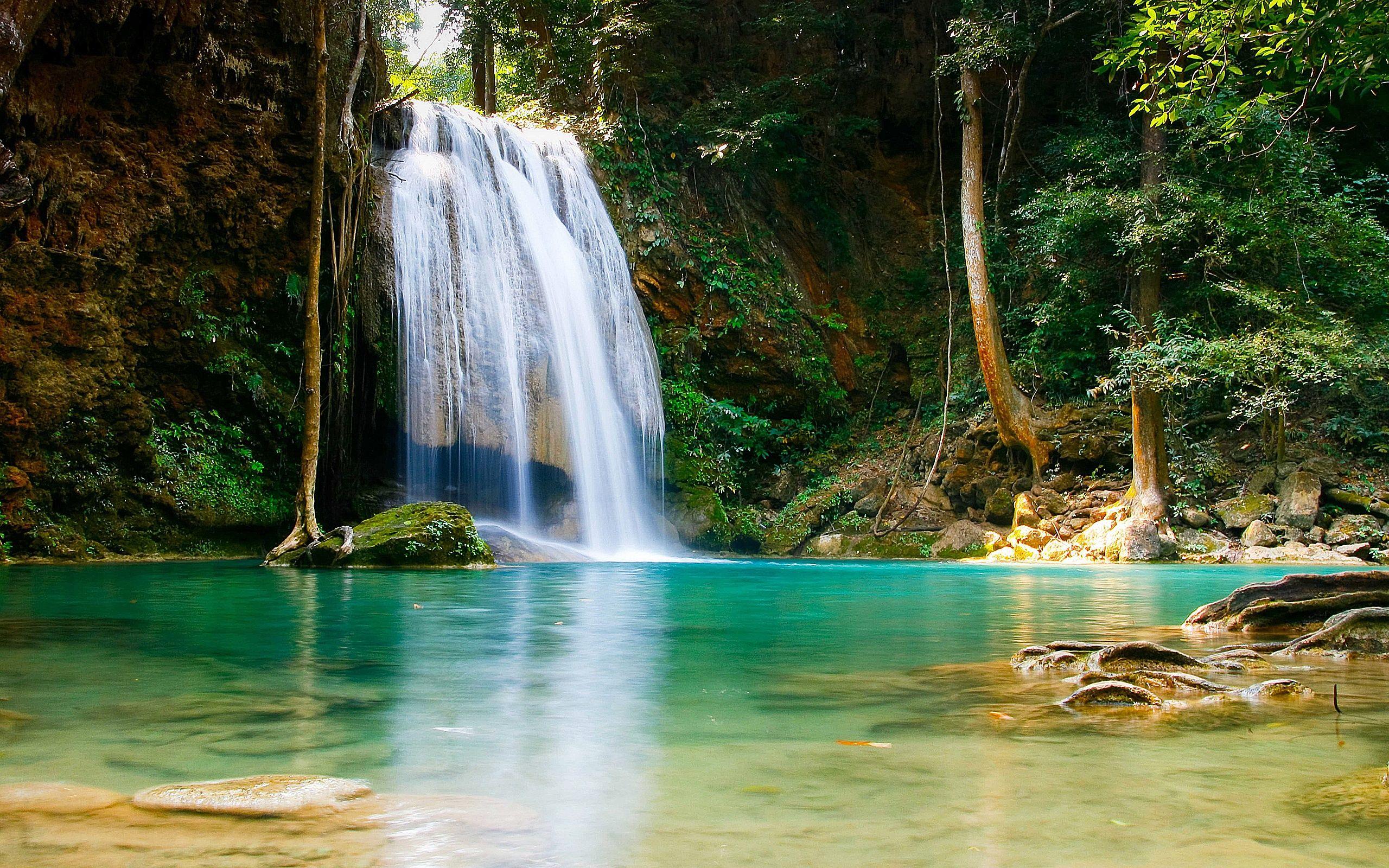 Beautiful Waterfall Hd Pics 7014890 Waterfall Wallpaper Nature Wallpaper Waterfall Pictures