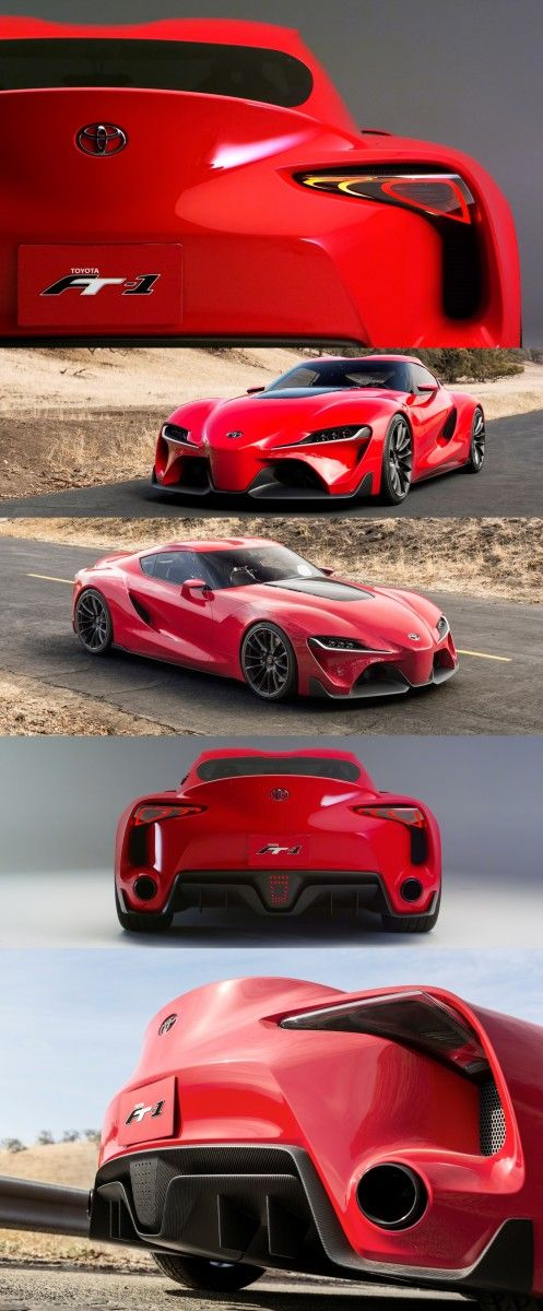 Surprise! Drop-Dead Sexy Toyota FT-1 Supra Joins Greatest Car Show on Earth #conceptcars