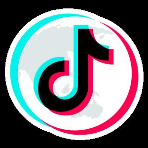 Tiktok Logo On Top Of Planet Picture Logo Snapchat Logo New Instagram Logo